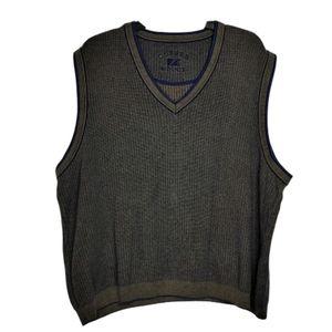 Cutter & Buck Sleeveless Cotton Sweater Vest Sz XL